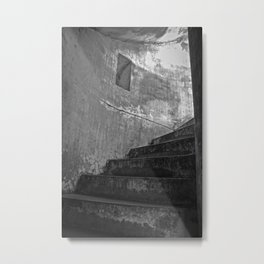 Stairwell To Hell Metal Print