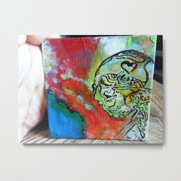 MINI MASTERPIECE Metal Print