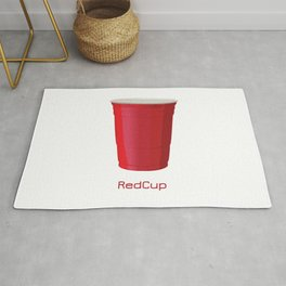 Red Cup Rug