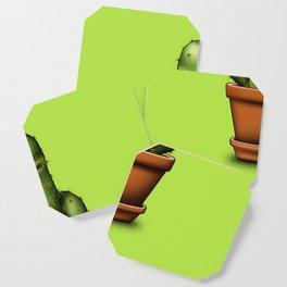 Male cactus Coaster