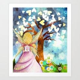 Fairy Tale Dreams Art Print