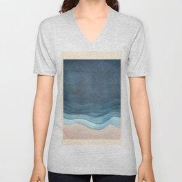 Ocean Waving Unisex V-Neck