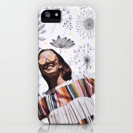 Because I'm Happy iPhone Case