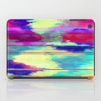 glitch iPad Cases featuring Glitch by James McKenzie