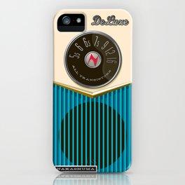 The Nakashuma Mark 1 in Blue iPhone Case