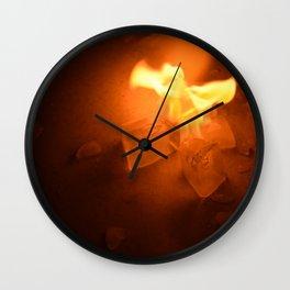 Ice & Fire Wall Clock