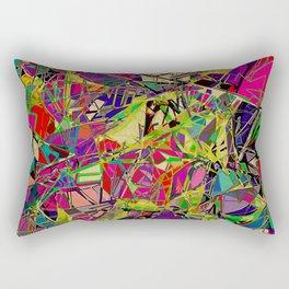 Fields of Technicolour Dreams Rectangular Pillow