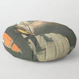 simon and garfunkel - wednesday morning, 3am - Floor Pillow