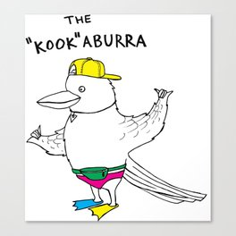 "The ""Kook""aburra Canvas Print"