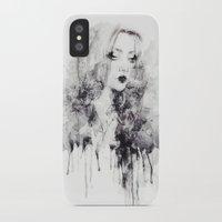 grunge iPhone & iPod Cases featuring Grunge by Sara Eshak