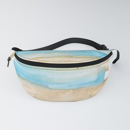 141203 Abstract Watercolor Block 9 Fanny Pack