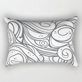 GreyFusion Rectangular Pillow