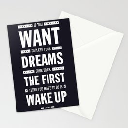 Lab No. 4 If You Want To Make J.M. Power Life Inspirational Quote Stationery Cards