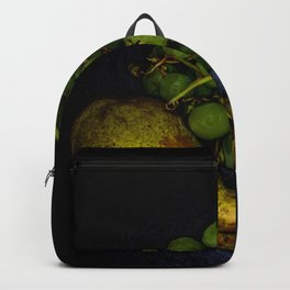 Fruit : Grapes and pears Backpack