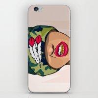 mcfreshcreates iPhone & iPod Skins featuring Goldie the Brave by McfreshCreates