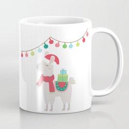 Christmas llamas V Coffee Mug
