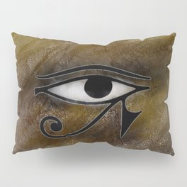Golden Eye Pillow Sham