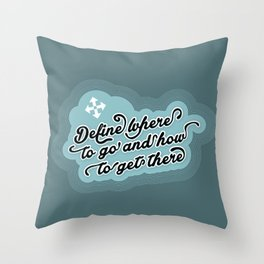 Define.... Throw Pillow