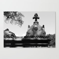 'Central Park Architecture' Canvas Print