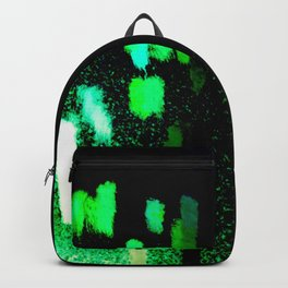 City Lights in the Rain Backpack