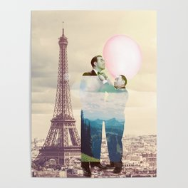 Chewingum In Paris Poster