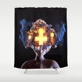 Burgeon Shower Curtain