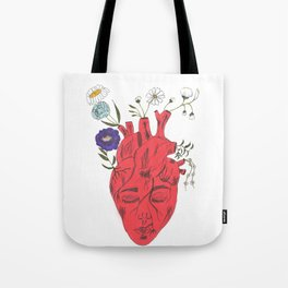 Peace Of Heart Tote Bag