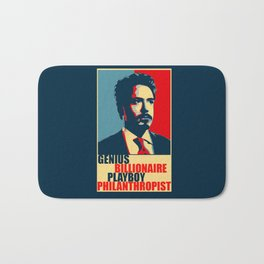 Robert Downey Jr - The Legend Bath Mat