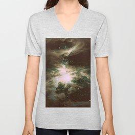 Orion Nebula Dark Unisex V-Neck