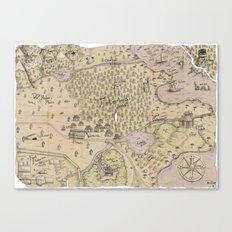 Rough Terrain Canvas Print