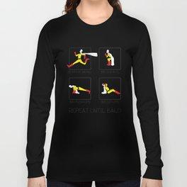 One Punch Man Workout Long Sleeve T-shirt