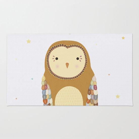 Autumn the Owl Rug