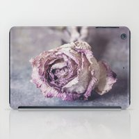 depression iPad Cases featuring Dried Rose by Maria Heyens