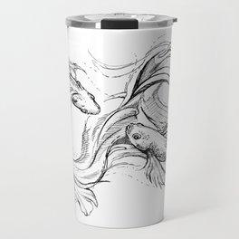Zodiac: Pisces Travel Mug