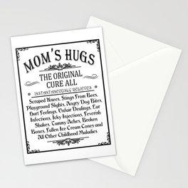 Mom's Hugs Stationery Cards