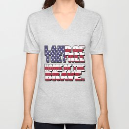 4th of July Quotes Unisex V-Neck