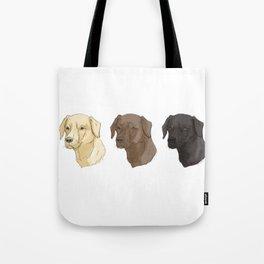 Labradors of Every Flavor Tote Bag