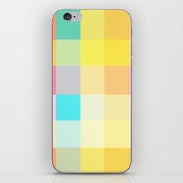 summer girl dress colors iPhone Skin