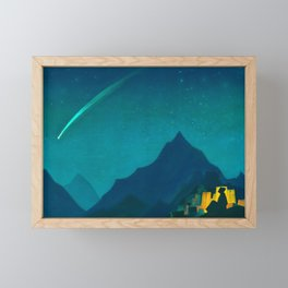 Star of the Hero, 1936 by Nicholas Roerich Framed Mini Art Print