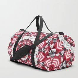 Rustic patchwork Duffle Bag