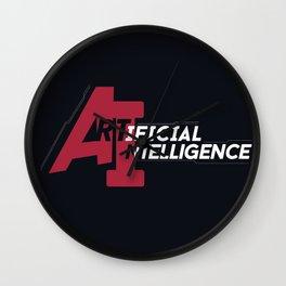 AI - Artificial Intelligence Wall Clock