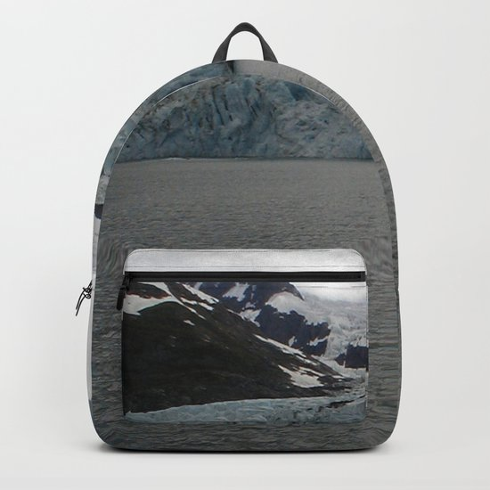TEXTURES -- A Face of Portage Glacier Backpack