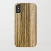 bamboo iPhone & iPod Cases featuring Bamboo by Patterns and Textures