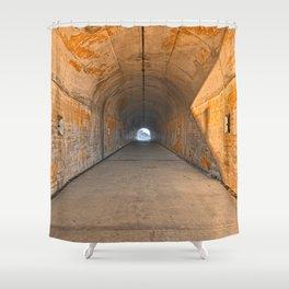 California War Tunnel Shower Curtain