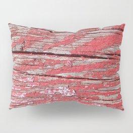 Peeled Paint on Wood rustic decor Pillow Sham
