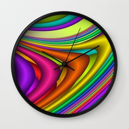 3D for duffle bags and more -9- Wall Clock