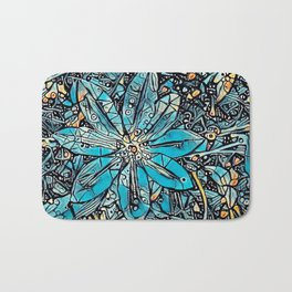Clematis Blue Fantasia Bath Mat