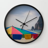 thailand Wall Clocks featuring Thailand by Tosha Lobsinger is my Photographer