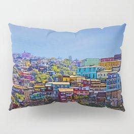 Cerro Artilleria, Valparaiso, Chile Pillow Sham