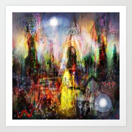 Waccan Stán - Awakening the Stones Art Print